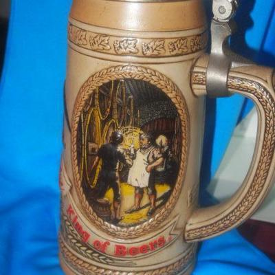Limited Edition Stein Ameuser Busch series
