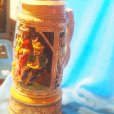 Collectable German Musical Stein  154