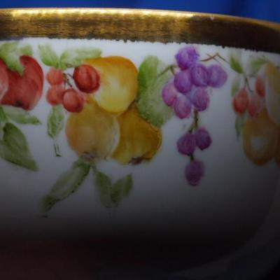 Hand made and painted German Bowl           218