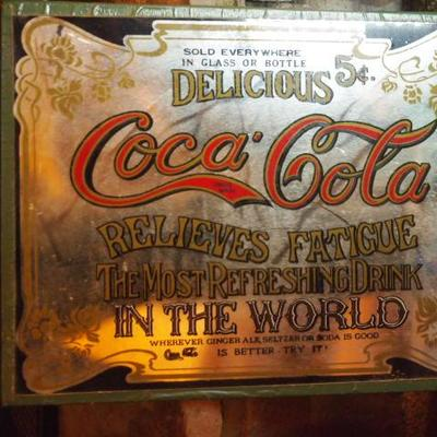 Coca Cola Adtiversing Mirror          208