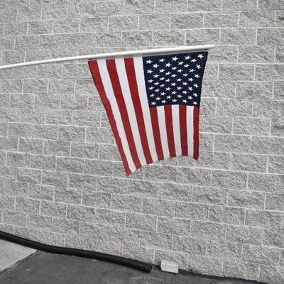 3'x5' Flag on 10 Foot Pole