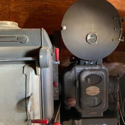 1940 Motiograph AA projector model 7500   35MM