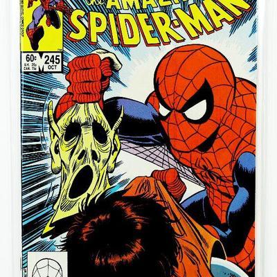 AMAZING SPIDER-MAN #245 Bronze Age Comic Book 1983 Marvel Comics HIGH GRADE