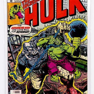Incredible HULK #209 Hulk vs Absorbing Man Bronze Age 1977 Marvel Comics HIGH GRADE