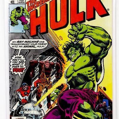 Incredible HULK #220 Captain Barracuda Bronze Age 1978 Marvel Comics HIGH GRADE