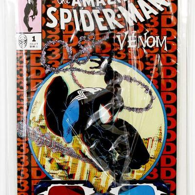 AMAZING SPIDER-MAN/VENOM #1 McFarlane AMS #300 Homage Cover 3-D Variant 2019 Marvel Comics NM/MT