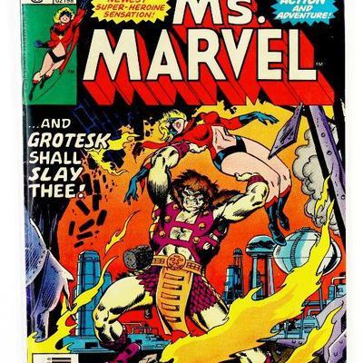MS. MARVEL #6 Rare Bronze Age Comic Book 1977 Marvel Comics VF-