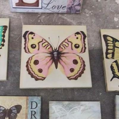 8 Butterfly Art Pieces