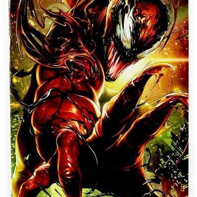 VENOM #14 Maxx Lim Battle Lines VIRGIN VARIANT 2019 Marvel Comics - New - NM