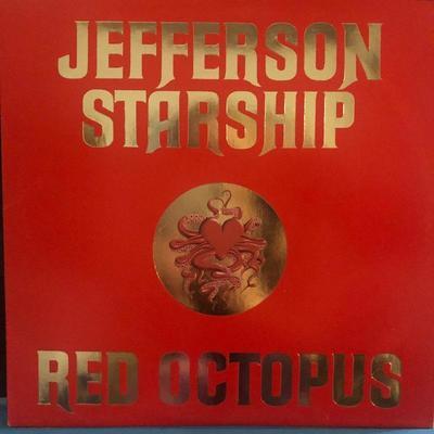 Lot# 2 Jefferson Starship - Red Octopus: BXL1-0999