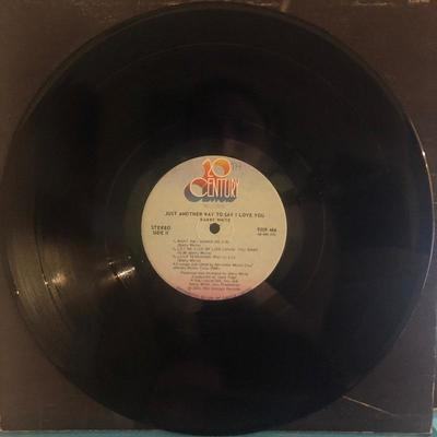 Lot #4 Barry White- Just another way to say I love you:9209 466