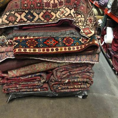 Estate Sale: Everything has to be sold!   Authentic Hand Knotted Persian Rugs Natural Wool & Cotton, Vegetable Dye  Different Sizes &...