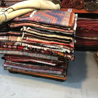Estate Sale: Everything has to be sold!   Authentic Hand Knotted  Vintage Persian Rugs Natural Wool & Cotton, Vegetable Dye  Different...