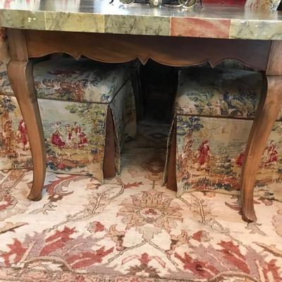 Dining table Tromp L'oeil $550 30H X 7'4