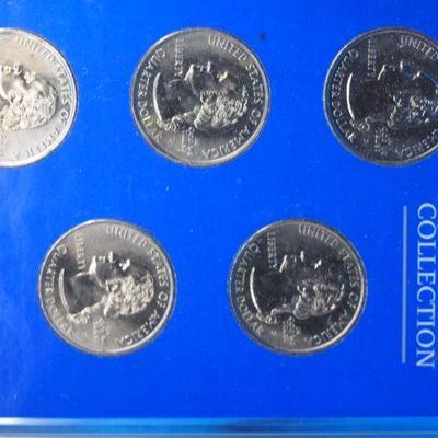1999 Uncirculated STATEHOOD Quarter Mint Set D    1008