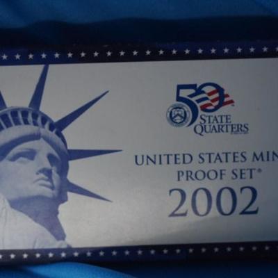 2002 United States Proof set 1007