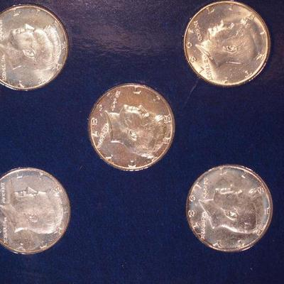 10 1967 JFK 10 Half Dollars in Proof Condition Commemorative Gallery       1096