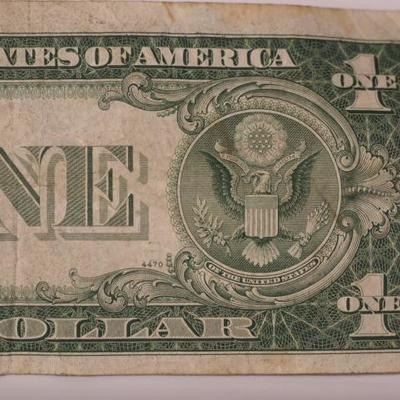 Series 1935 C $1 Silver Certificate Circulated