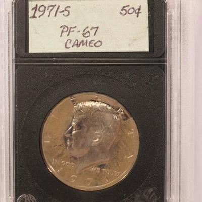 1971 S Kennedy Half Dollar   1012