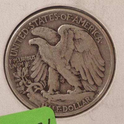 1946 P Walking Liberty Half Dollar    1004
