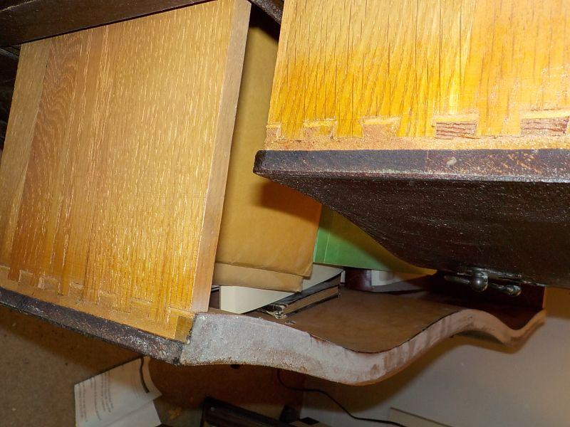 Solid and all drawers working well. Maple , fitted interior, drawers, dated late 1800's to early 1900's. min. scratches all hardware.