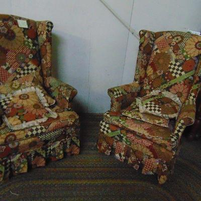 L10 Wingback chairs