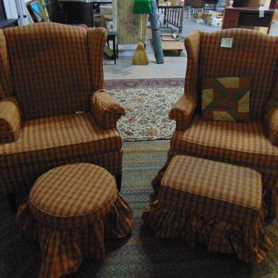 L11 Wingback chairs