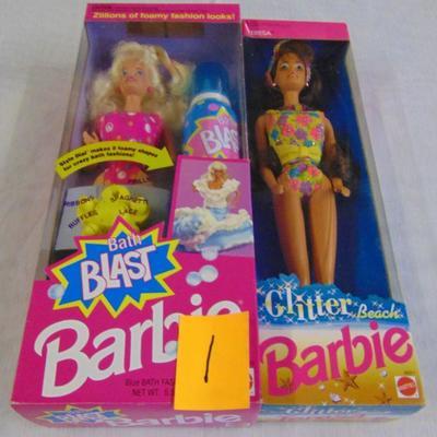 1 - Barbie dolls
