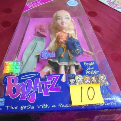 10 Bratz doll
