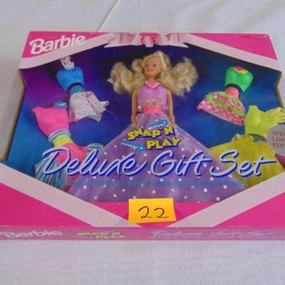 22 Barbie doll