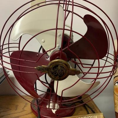 GE Texas A&M themed electric fan