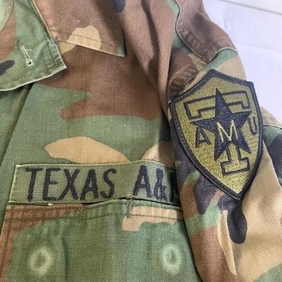 Camo Texas A&M uniform