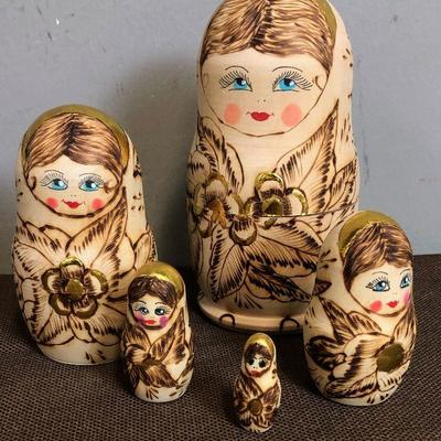 Lot #3 Russian Nesting Dolls