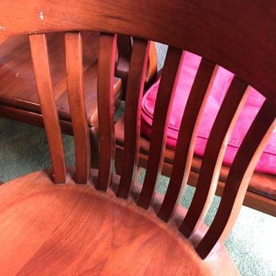 Lot 3 Set of 5 Mission Style Chairs