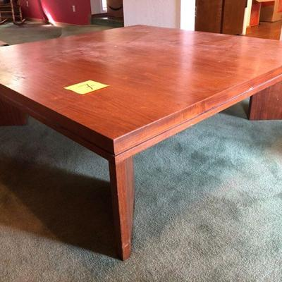 Lot 7 Modern Oversized Coffee Table