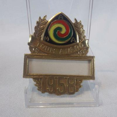 1958 AMA Tour Award Pin
