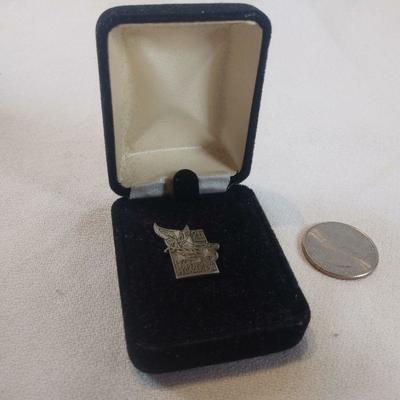 Sterling 1997 KY Derby Festival Pin 25th Anniversary