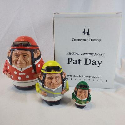 Autographed Pat Day Nesting Dolls