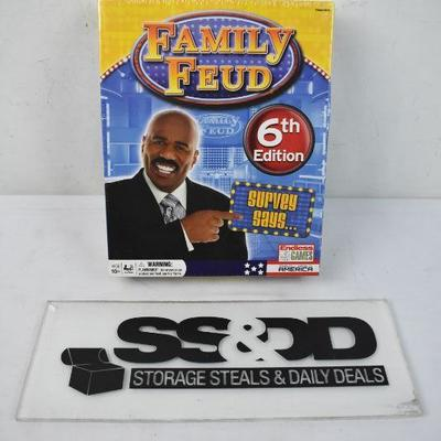 Family Feud 6th Edition, $13 Retail - New, Minimal Box Damage