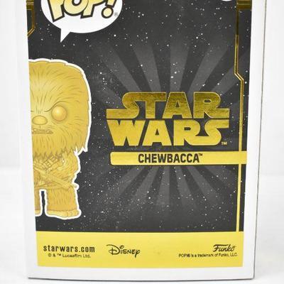 Funko POP Star Wars: Chewbacca (Gold Metallic)- New