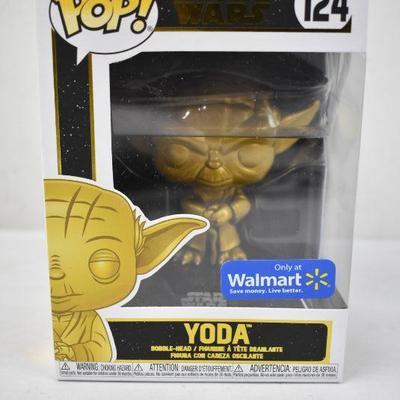 Funko POP Star Wars: Yoda (Gold Metallic) Walmart Exclusive - New