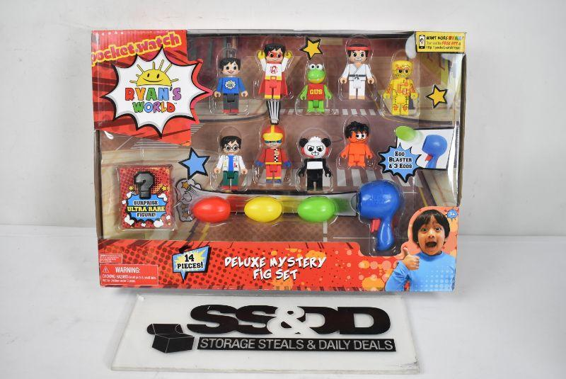 14 Piece Deluxe Mystery Figure Set *BRAND NEW* Ryan/'s World