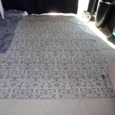 LOT 3 - 2 AREA RUGS, 1 THROW RUG