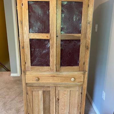 Old Wooden Pie/Storage Cabinet