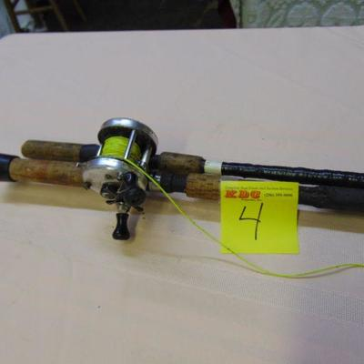 4 Rod and reel