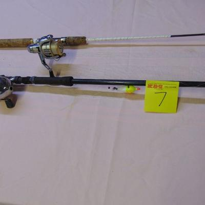 7  Rods and reels