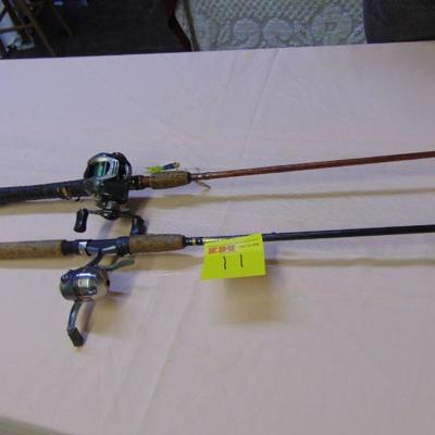 11 Rods and reels