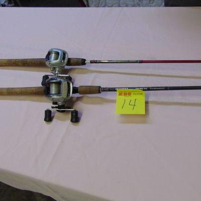 14 Rods and reels