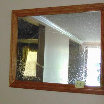 15 Etched mirror