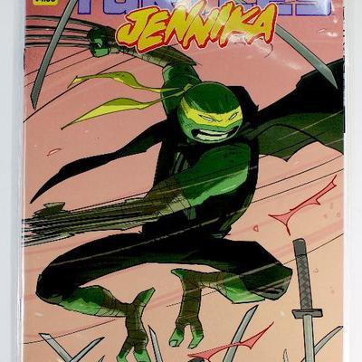 Teenage Muntant Ninja Turtles JENNIKA #1 (OF 3) CVR A REVEL (C: 1-0-0)